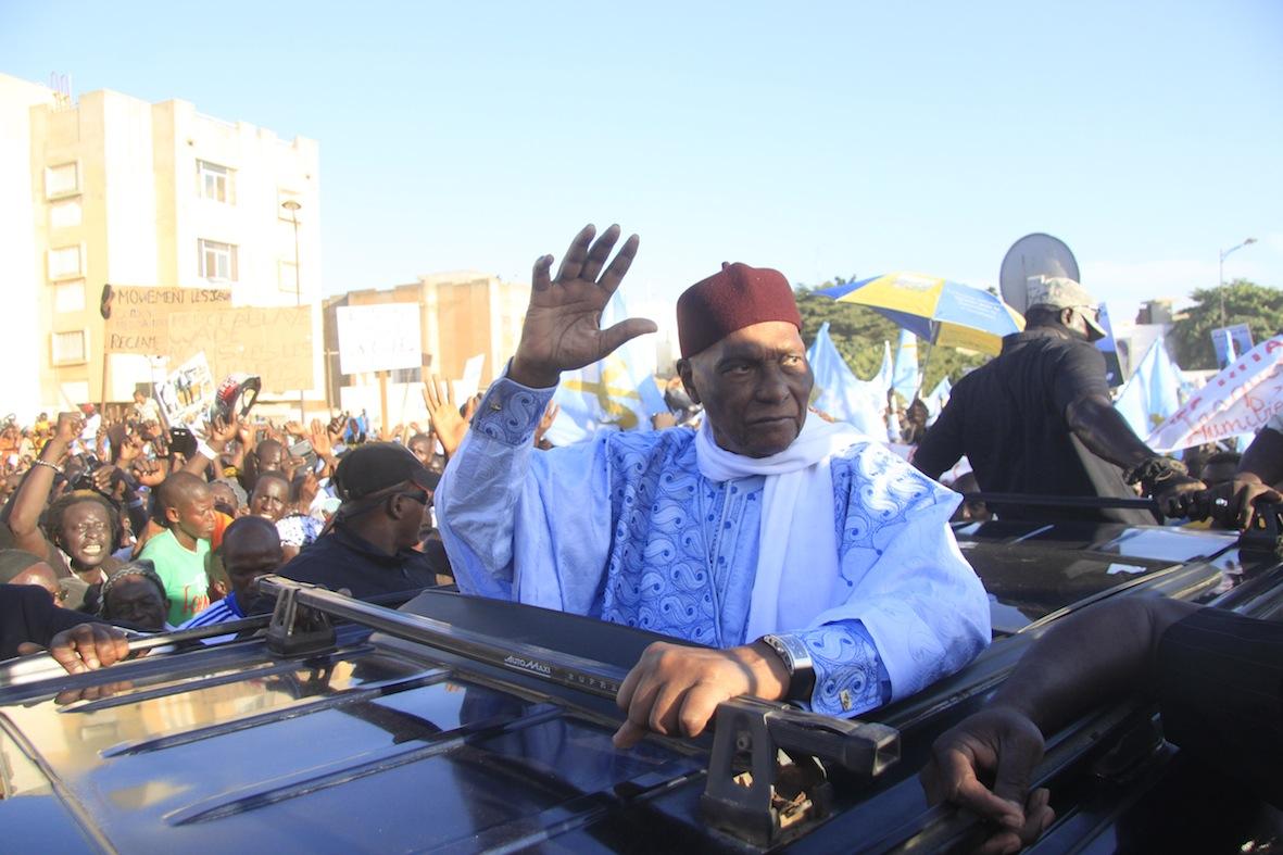 """Abdoulaye WADE : """"Je ne parraine aucune candidature autre que celle de ..."""""""