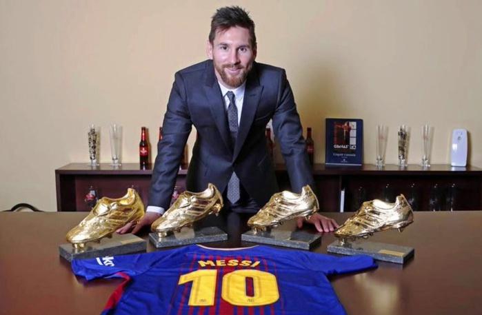 Soulier d'Or : Messi fonce vers un 5e titre !
