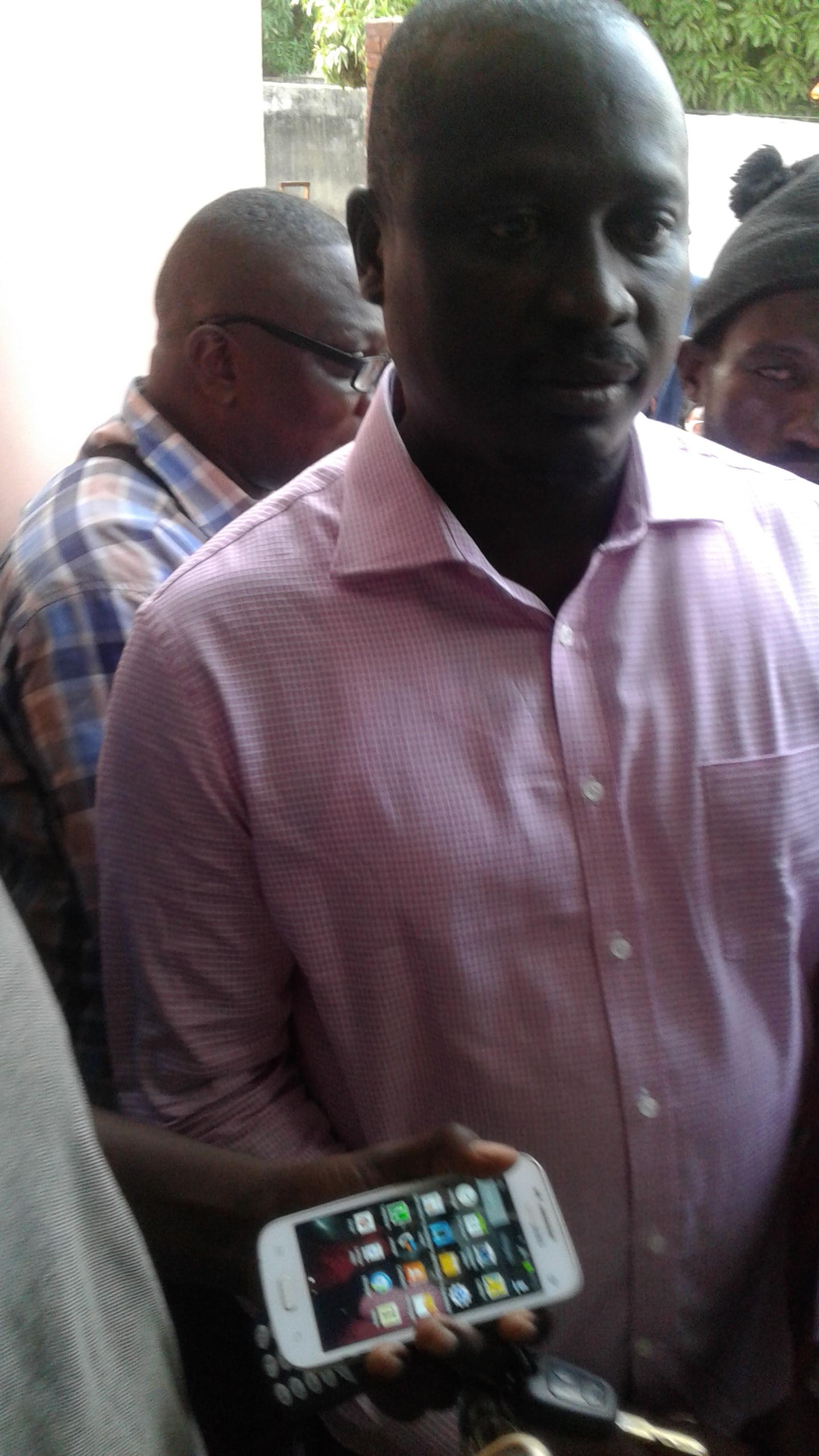 Le responsable politique du parti démocratique sénégalais, ancien président du conseil régional