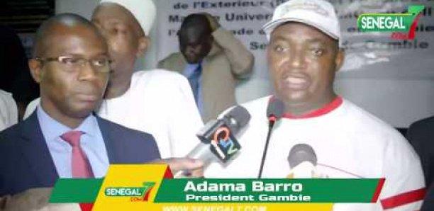 Adama Barrow: « Mane ak Macky dagnouy dem, par force... » [Vidéo]