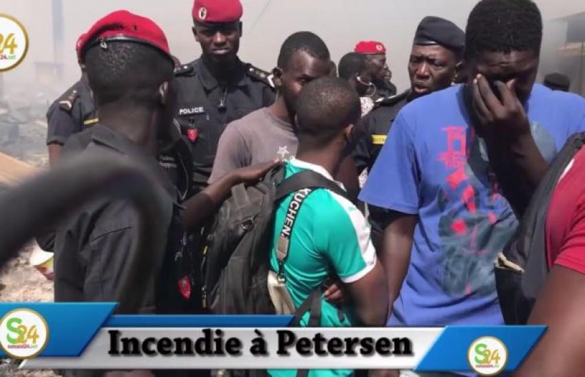 Violent incendie au marché Petersen : Les victimes accusent...