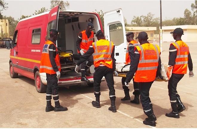 Louga : Un accident fait 1 mort et 7 blessés