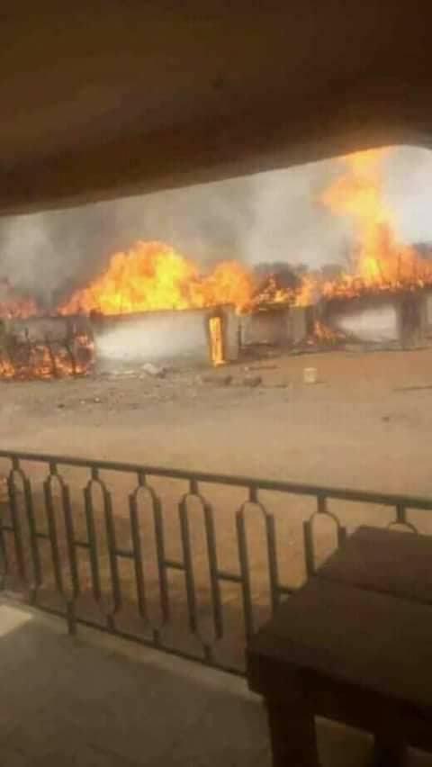 Kédougou : Un incendie d'une rare violence détruit toute la partie Est de Kharakhéna.