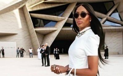 Naomi Campbell au Sénégal, avec le fils du milliardaire…