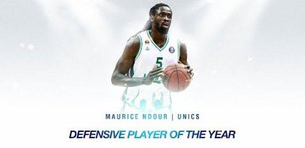 Basket : Maurice Ndour élu meilleur joueur défensif de la VTB League !