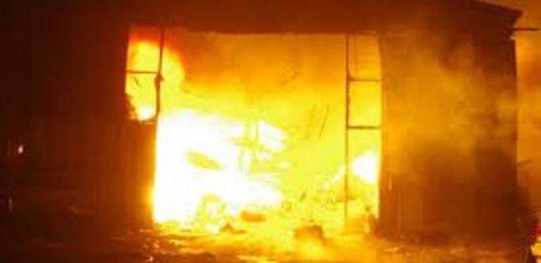 Louga : Le quartier de Médina-Garage ravagé par un violent incendie