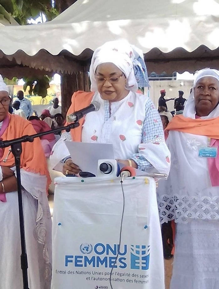Tournée à Kolda de Ndèye Saly Diop Dieng, ministre de la femme, du genre et de la protection des enfants