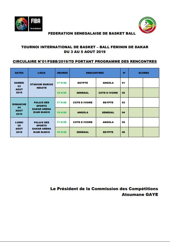 """Tournoi international de Basket : Les """"Lionnes"""" entrent en lice ce samedi contre la Côte d'Ivoire"""