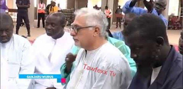 Video de l'entrepreneur de la mosquée Massalikoul Jinane qui se convertissait à l'Islam
