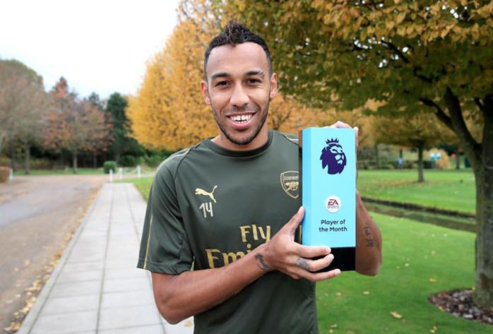 Premier League : Le « Gunner » Pierre-Emerick Aubameyang désigné joueur du mois de septembre