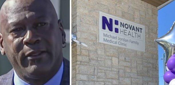 NBA – Michael Jordan en larmes en ouvrant une clinique à 7 millions $ pour les plus démunis