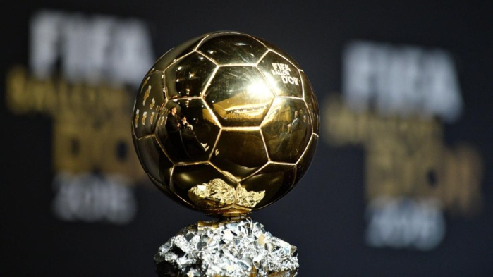 Les détails des votes du Ballon d'Or : Mané devance largement Salah et Marhez, relégués respectivement à 169 et 314 points