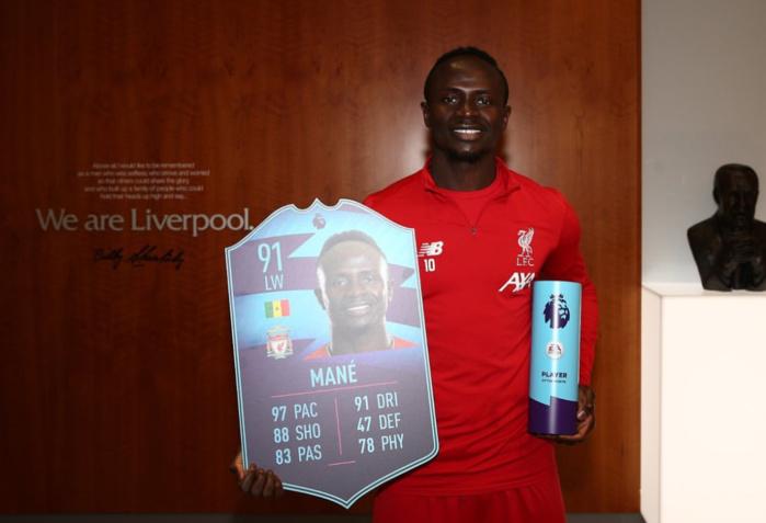 Premier League / Liverpool : Sadio Mané désigné meilleur joueur du mois de novembre.