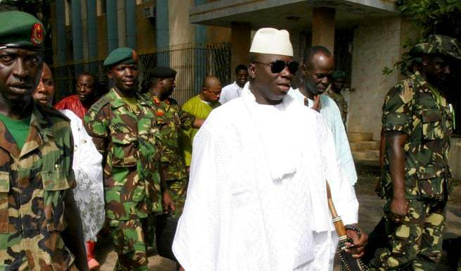 Yahya Jammeh évoque son souhait de rentrer en Gambie