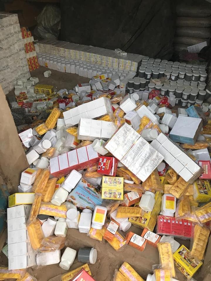 Nouvelle saisie de faux médicaments d'une valeur de 61 millions CFA