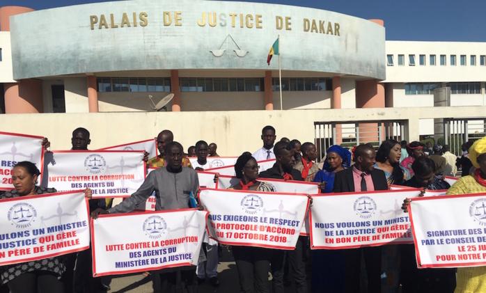 Justice : Le Sytjust ouvre la porte à des négociations avec l'Etat et étale ses exigences...