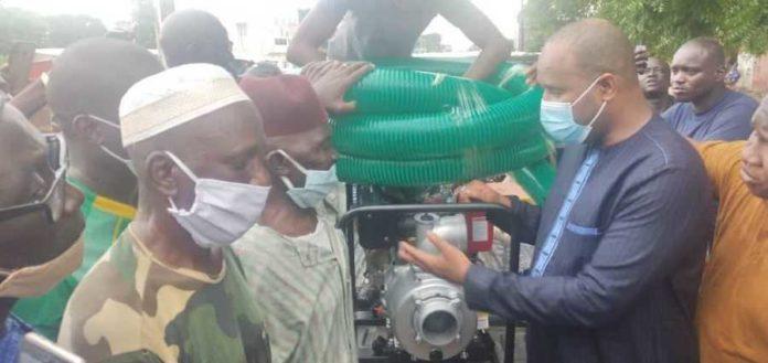 Inondations à Kolda : le maire Abdoulaye Bibi Baldé au chevet des populations sinistrées