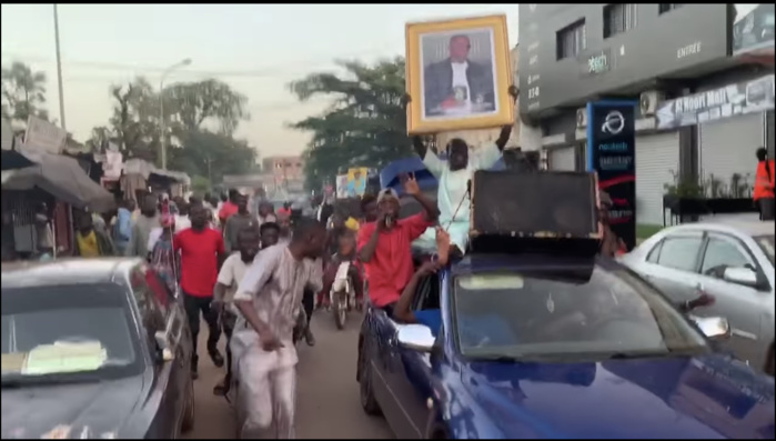 Mali : Marche pour la libération de Sidiki Diabaté.
