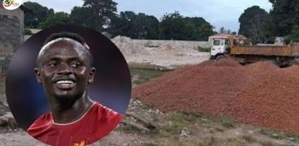 Découvrez les nouvelles images du chantier de Sadio Mané dans son village
