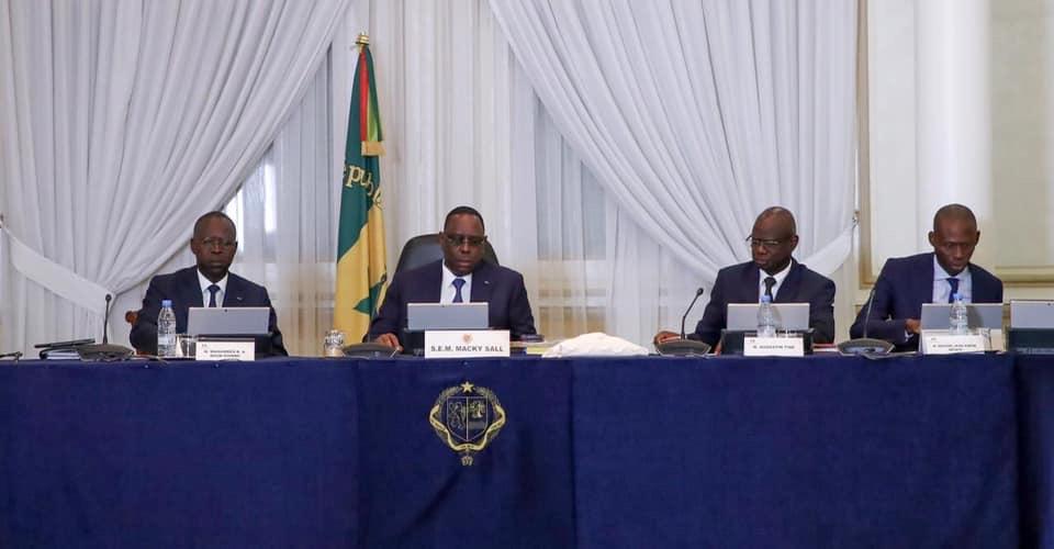 Communiqué du conseil des ministres du Mercredi 13 janvier 2021.
