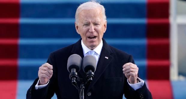 Joe Biden aux Américains après son investiture : « Nous avons cette occasion unique de nous unir, d'agir différemment et nous projeter de l'avant »