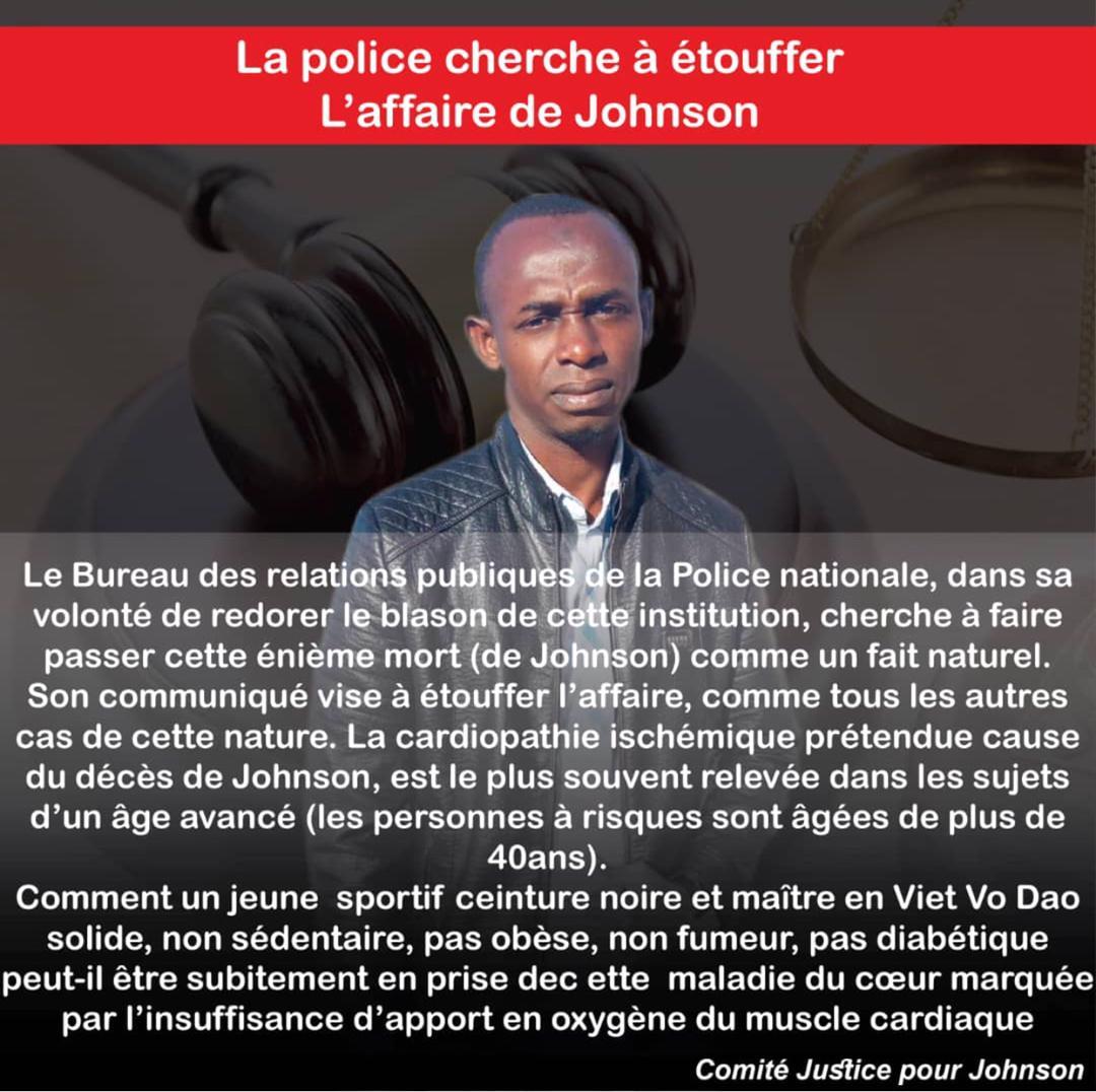 L'affaire Abdel Kader Johnson : Le droit de savoir !