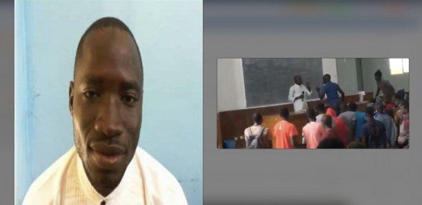Ucad : L'étudiant qui avait arraché le micro à un prof arrêté