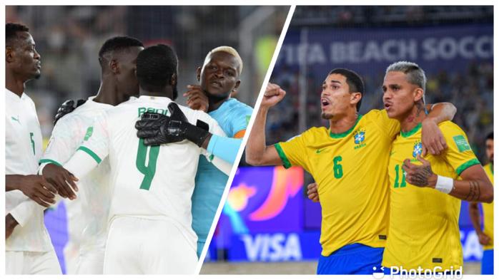 nCoupe du monde Beach Soccer : Le Sénégal affronte le Brésil ce jeudi, en quart de finale (12h 00 Gmt)
