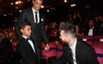 Quand Cristiano Jr rencontre Messi, son idole