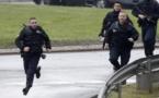 le développement de la prise d'otages dans un supermarché de France