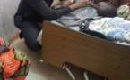Mameboye au chevet des malades à l'hôpital régional