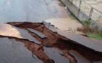 Saint-Louis : Affaissement du pont du village de Savogne, un habitant témoigne