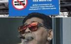 Arrêt sur image : Maradona brave un grand interdit du Mondial