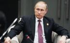 """Les vérités de Poutine : """"Quand un Africain devient riche, ses comptes bancaires sont en Suisse..."""""""