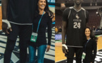 USA : Le Sénégalais Tacko Fall pose avec la journaliste Tracy Wolfson (1m70)