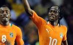La Côte d'Ivoire s'est qualifiée pour la finale de la CAN en dominant le Mali (1-0) avec un but de Gervinho juste avant la paus