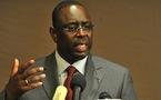 """SENEGAL-PRESIDENTIELLE-DECLARATION Macky Sall salue une """"victoire du peuple sénégalais"""""""