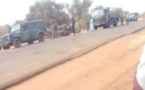 Koki : Accident spectaculaire d'un camion de l'armée sénégalaise