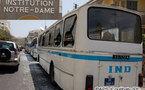 Des bus de Notre-Dame saccagés par des lycéens en grève