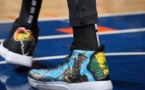 NBA : A travers ses chaussures, Tacko Fall rend hommage au Sénégal