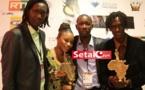 REGARDEZ. Aïda Samb et Gelongal honorent le Sénégal au Kora Awards