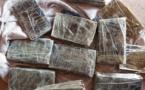 Trafic de drogue : 1 376 kg de chanvre indien et 5 kg de ''brown'' saisis à Kidira