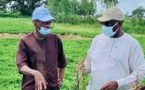Remaniement ministériel : Les remerciements de Moussa Baldé, ministre de l'agriculture et de l'équipement rural au président Macky Sall pour la confiance renouvelée.