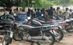 """74 motos """"Jakarta"""" immobilisées à Tivaouane (Gendarmerie)"""