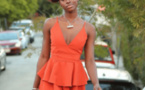 Diarra Sylla, dans une robe très sexy, redessine les rues de Californie (Photos)