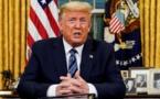 Dans son discours d'adieu, Donald Trump vante sa fermeté face à la Chine