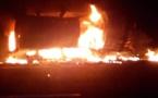 Incendie à Yoff : Une voiture 4x4 prend feu