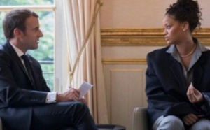 Macron au Sénégal pour tenir sa promesse faite à Rihanna