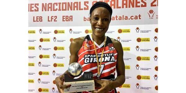 Distinction : Astou Traoré MVP de la finale Ligue Nationale Catalane