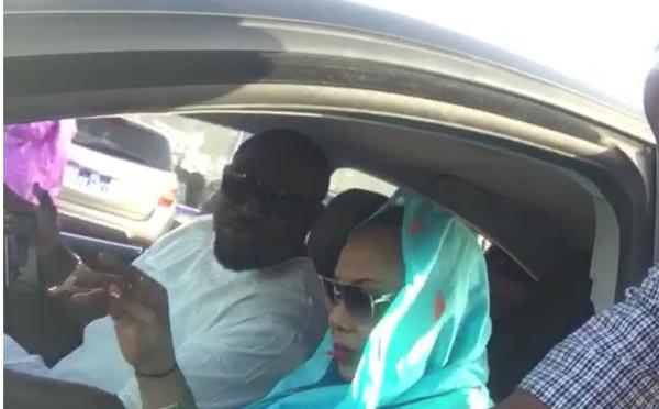 Amina Poté et son mari Mor Cisse : en couple direction Touba ….Regardez